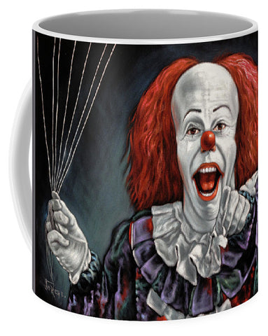 products page velvetify pennywise the dancing clown or bob gray mug