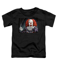 Pennywise The Dancing Clown Or Bob Gray - Toddler T-Shirt