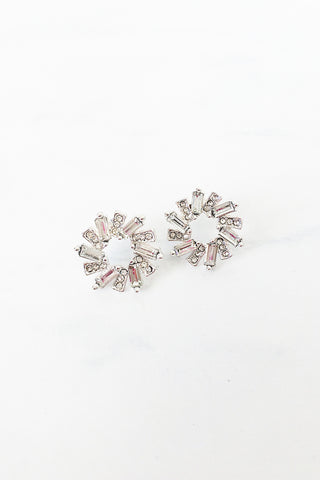 Crystal Wreath Earrings