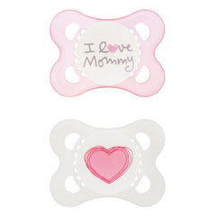 Mam Love and Affection Soother Pink I Love Mommy - Belly Laughs - A Children's & Maternity Boutique - Canada - 4