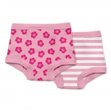 Green Sprouts Training Pants 2 Pack 18M / Pink - Belly Laughs - A Children's & Maternity Boutique - Canada - 2