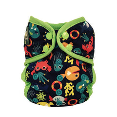 Under the Sea Blue, Bummis One-Size Swim Diaper, www.bellylaughs.ca