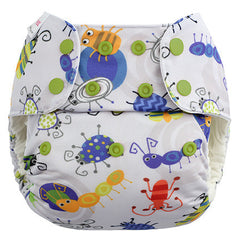 Bugs, Blueberry One Size Simplex All-In-One Diaper, www.bellylaughs.ca