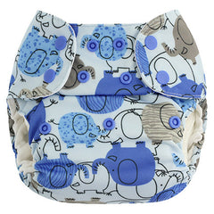 Blue Elephant, Blueberry One Size Simplex All-In-One Diaper, www.bellylaughs.ca