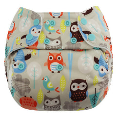 Night Owls, Blueberry One Size Simplex All-In-One Diaper, www.bellylaughs.ca