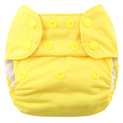 Lemon, Blueberry One Size Simplex All-In-One Diaper, www.bellylaughs.ca