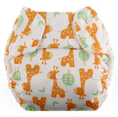 Giraffe, Blueberry One Size Simplex All-In-One Diaper, www.bellylaughs.ca