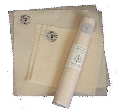 B Factory Beeswax Food Wrap Starter Kit
