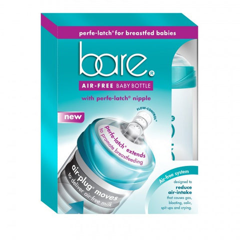 Bare Air-Free 8oz Perfe-Latch Bottle Twin Pack