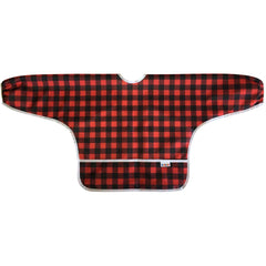 Lumberjack, Bummis Best-Ever Bib Sleeved, www.bellylaughs.ca