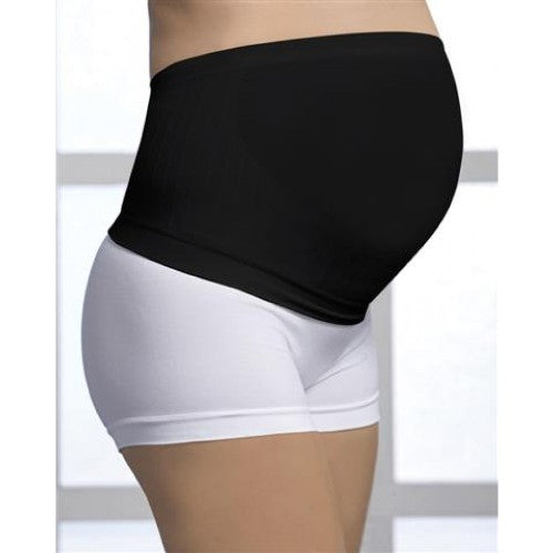Small / Black, Carriwell Seamless Maternity Support Band, www.bellylaughs.ca