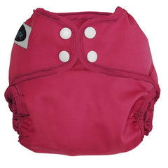 Raspberry, Imagine One Size Cloth Diaper Cover, www.bellylaughs.ca