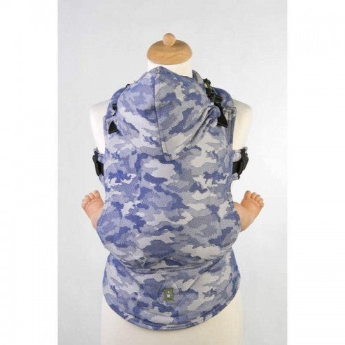 Blue Camo, LennyLamb Ergonomic Toddler Carriers, www.bellylaughs.ca