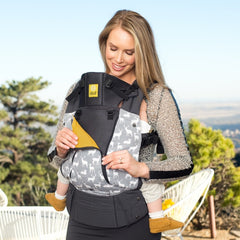 Charcoal Oh Deer,  LILLEbaby All Seasons Baby Carrier, www.bellylaughs.ca