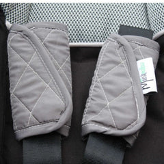 Mint Marshmallow Strap Covers Slate Grey - Belly Laughs - A Children's & Maternity Boutique - Canada - 3