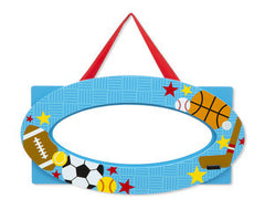 Sports, Melissa & Doug Door Plaques, www.bellylaughs.ca