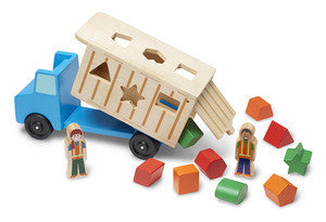 Melissa & Doug Shape Sorting Dump Truck  - Belly Laughs - A Children's & Maternity Boutique - Canada