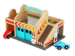 Melissa & Doug Service Station Parking Garage  - Belly Laughs - A Children's & Maternity Boutique - Canada - 1
