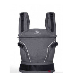 Manduca Baby and Toddler Carrier Pure Cotton Dark Grey - Belly Laughs - A Children's & Maternity Boutique - Canada - 2