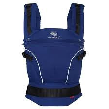 Pure Cotton Royal Blue, Manduca Baby and Toddler Carrier, www.bellylaughs.ca