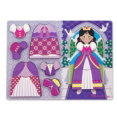 Dress Up Princess, Melissa & Doug Chunky Puzzles, www.bellylaughs.ca