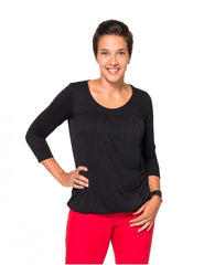 Small / Black, Momzelle Juliette Nursing Top, www.bellylaughs.ca