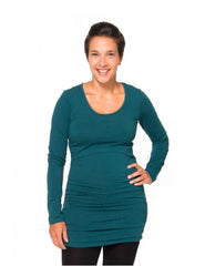 Deep Teal / Small, Momzelle Molly Nursing Top, www.bellylaughs.ca