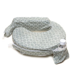 Deluxe Flower Key Grey, My Brest Friend Nursing Pillow, www.bellylaughs.ca