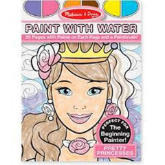 Pretty Princess, Melissa & Doug Paint With Water Pads, www.bellylaughs.ca