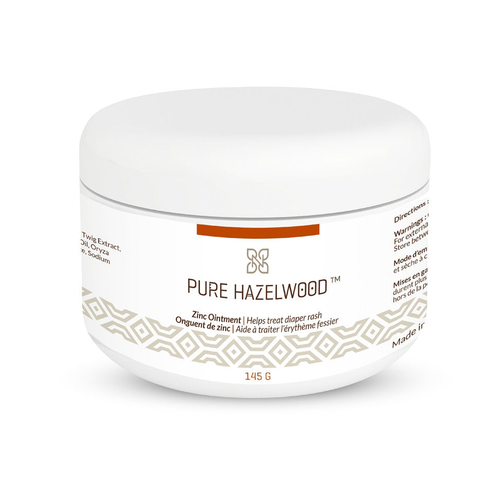 Pure Hazelwood Zinc Ointment Diaper Cream  - Belly Laughs - A Children's & Maternity Boutique - Canada