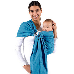 Beco Ring Sling, Ocean, Ring Sling, www.bellylaughs.ca - Maternity & Baby Store