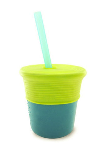 Siliskin Silicon Straw Cup Set