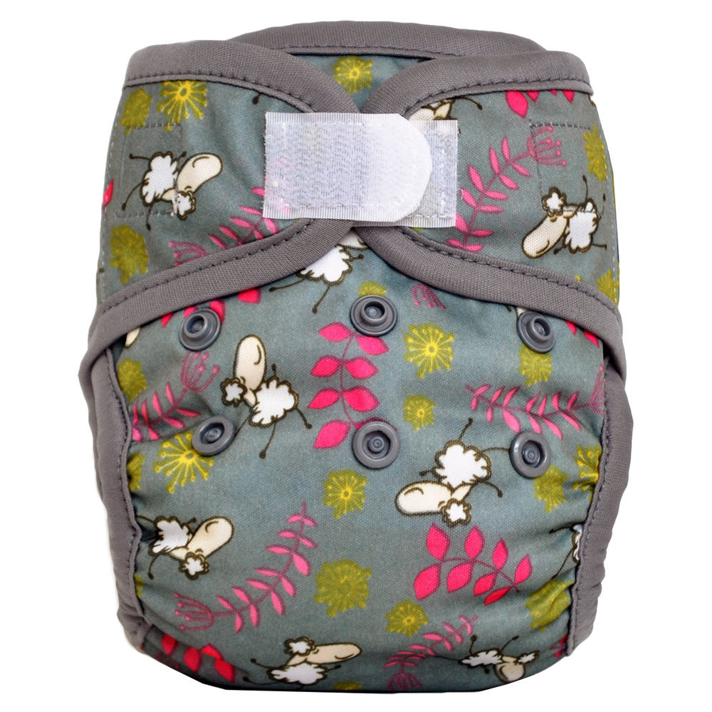 Sweet Pea Newborn Diaper Cover