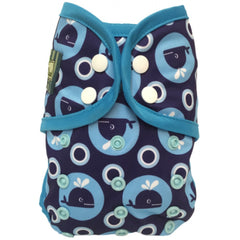 Whales, Bummis One-Size Swim Diaper, www.bellylaughs.ca