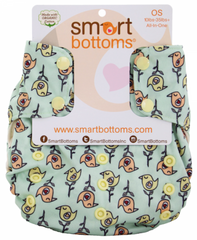American Tweetheart 3.1, Smart Bottoms Smart One One Size Cloth Diaper, www.bellylaughs.ca