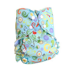 Print-Melody, AMP Onesize Duo Pocket Diaper, www.bellylaughs.ca