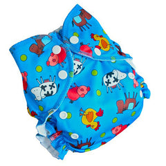 Print-Benny's Farm, AMP Onesize Duo Pocket Diaper, www.bellylaughs.ca