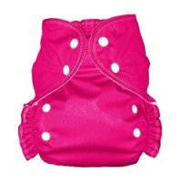 Magenta, AMP Onesize Duo Pocket Diaper, www.bellylaughs.ca