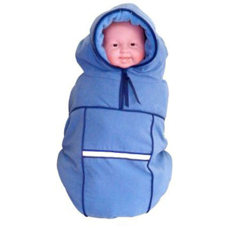Blue, Baby Parka Carrier Coat, www.bellylaughs.ca