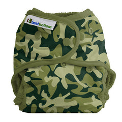 Camo, Best Bottom Cloth Diapers, www.bellylaughs.ca