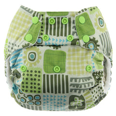 Geo, Blueberry One Size Simplex All-In-One Diaper, www.bellylaughs.ca