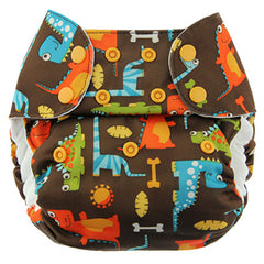 Dino Party, Blueberry One Size Simplex All-In-One Diaper, www.bellylaughs.ca