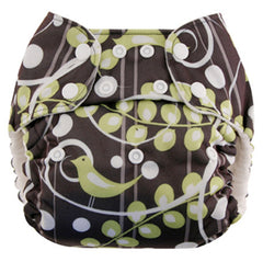 , Blueberry One Size Simplex All-In-One Diaper, www.bellylaughs.ca