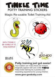 Bugs, Tinkle Time Potty Stickers, www.bellylaughs.ca
