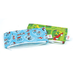 Dr Seuss, Bumkins Reusable Snack Bags - Small 2 Pack, www.bellylaughs.ca