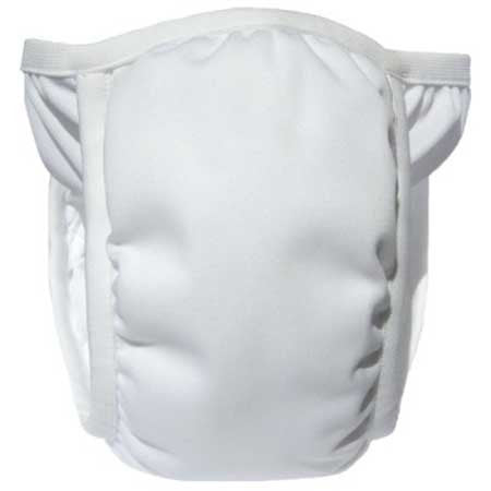 White / Small, Bummis Potty Pant, www.bellylaughs.ca