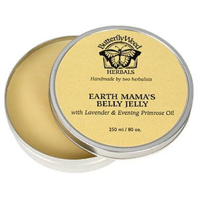 , Butterfly Weed Earth Mama's Belly Jelly, www.bellylaughs.ca