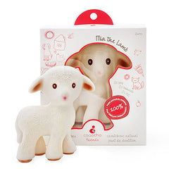 Sola the Goat & Mia the Lamb Teethers Mia the Lamb - Belly Laughs - A Children's & Maternity Boutique - Canada - 1