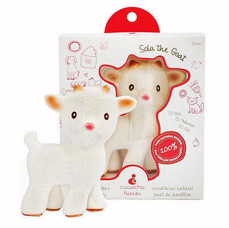 Sola the Goat & Mia the Lamb Teethers Sola the Goat - Belly Laughs - A Children's & Maternity Boutique - Canada - 2