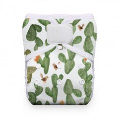 Cactus Garden, Thirsties One Size Snap Pocket Diaper, www.bellylaughs.ca